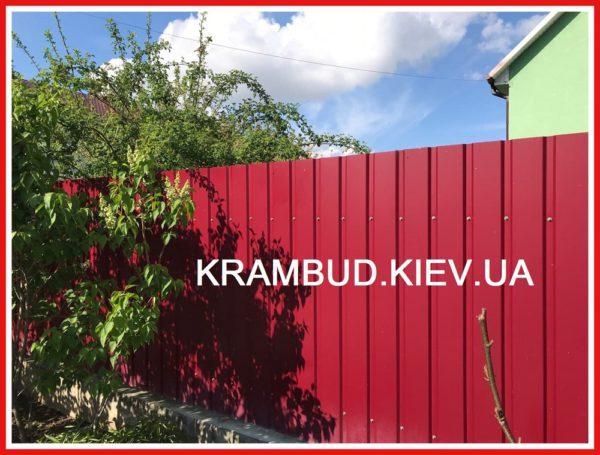 Профнастил Вишневое - Крамбуд (12)