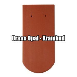 Браас Опал - натуральная керамическая черепица