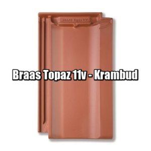 Браас Топаз 11 В - натуральная керамическая черепица