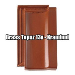 Браас Топаз 13 В - натуральная керамическая черепица