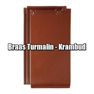 Браас Турмалин - натуральная керамическая черепица