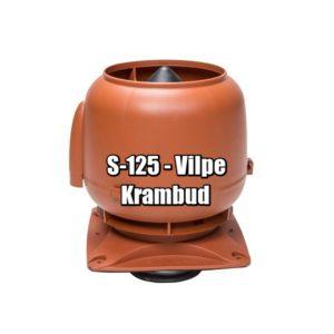 Vilpe S-125 - вентиляционные выходы