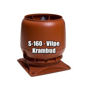 Vilpe S-160 - вентиляционные выходы