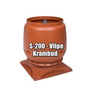 Vilpe S-200 - вентиляционные выходы