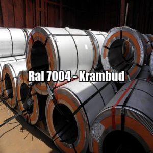 цена Рулонная сталь 7004 Ral - плоский гладкий лист с полимерным покрытием