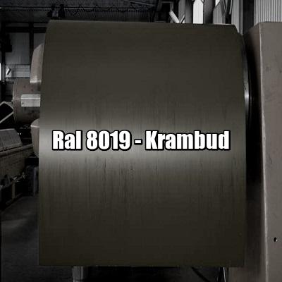 цена Рулонная сталь 8019 Ral - плоский гладкий лист с полимерным покрытием купить