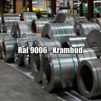 Рулонная сталь 9006 Ral - плоский гладкий лист с полимерным покрытием киев