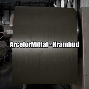 цена Рулонная сталь ArcelorMittal Германия 0,50 мм — гладкий лист с полимерным покрытием