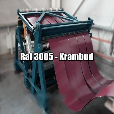 цена Штрипс RAL 3005 — штрипсованный плоский лист с полимерным покрытием