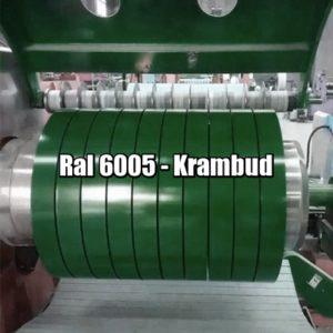 купить Штрипс RAL 6005 — штрипсованный плоский лист с полимерным покрытием цена