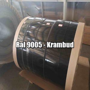 цена Штрипс RAL 9005 — штрипсованный плоский лист