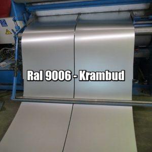 купить Штрипс RAL 9006 — штрипсованный цена