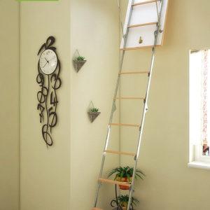 Чердачная лестница BUKWOOD Metal Mini Eco - 80-80-265 - Крамбуд