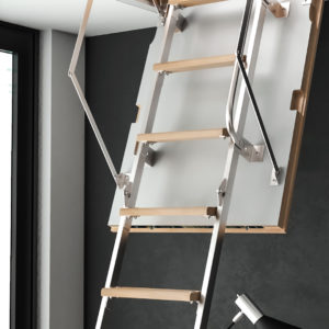 Чердачная лестница BUKWOOD Metal Mini Luxe - 90-60-265 - Крамбуд