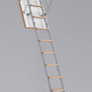 Чердачная лестница BUKWOOD Metal Standard Luxe - 130-90-280 - Крамбуд