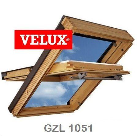 Мансардное окно Velux GZL 1051 Стандарт – 78-140 - Крамбуд