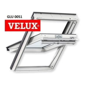 Velux 55-78 GLU 0051 Стандарт – Мансардное окно - Крамбуд